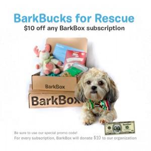 BarkBucks For Rescue!